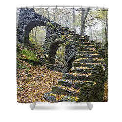 Madame Sherri Forest - Chesterfield New Hampshire Usa Shower Curtain