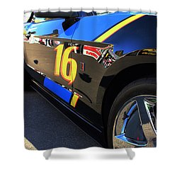 Shower Curtain featuring the photograph Made For Speed by Natalie Ortiz