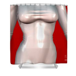 Mademoiselle Contenu Premiere A Shower Curtain