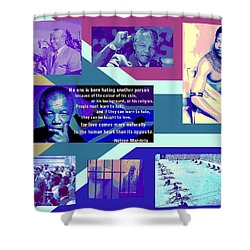 Madiba Mandela Shower Curtain