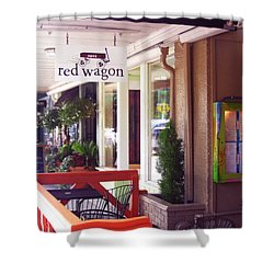 Madison Valley Street Scene 1 Shower Curtain