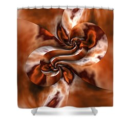 Maelstrom Shower Curtain by Lyle Hatch