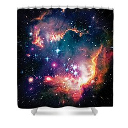 Magellanic Cloud 1 Shower Curtain by Jennifer Rondinelli Reilly - Fine Art Photography