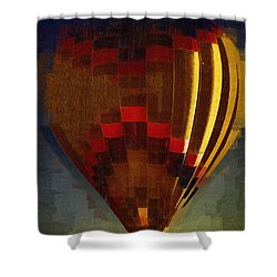 Shower Curtain featuring the digital art Magestic by Kirt Tisdale