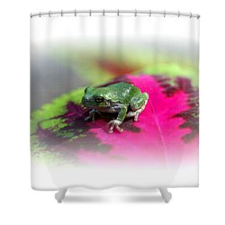 Magic Carpet Coleus Leaf Shower Curtain