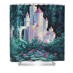 Magic Castle Shower Curtain