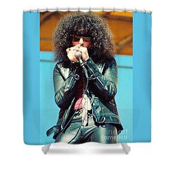 Magic Dick  From J Geils Band - Day On The Green July 4th 1979 Shower Curtain