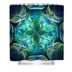 Magic Mark Shower Curtain by Anastasiya Malakhova