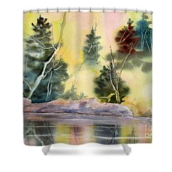 Magic Moments Shower Curtain by Mohamed Hirji