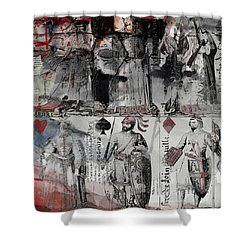 Magic Moonlight - B Shower Curtain by Corporate Art Task Force