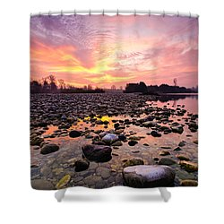 Magic Morning II Shower Curtain