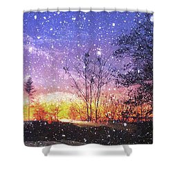Magic Of Maine Shower Curtain