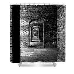 Magic Portal Shower Curtain by Robert McCubbin