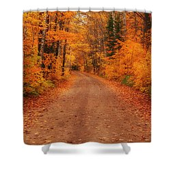 Magical Autumn Mystery Shower Curtain