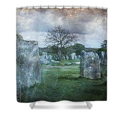 Magical Brittany Shower Curtain by Barbara Orenya