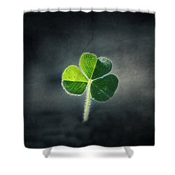 Magical Clover Shower Curtain by Melanie Lankford Photography