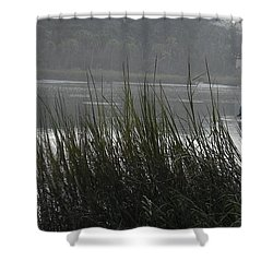 Magical Inlet Shower Curtain by Patricia Greer