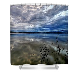 Magical Lake Shower Curtain