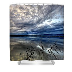 Magical Lake - Vertical Shower Curtain