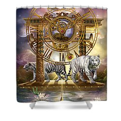 Magical Moment In Time Shower Curtain by Ciro Marchetti