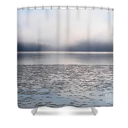 Magical Morning Of Mist Shower Curtain