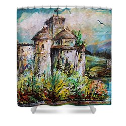 Magical Palace Shower Curtain