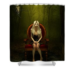 Magical Red Chair Shower Curtain