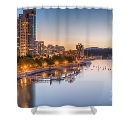 Magical Vancouver Shower Curtain by Sabine Edrissi