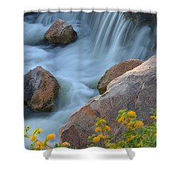 Magical Waters Shower Curtain by Deb Halloran