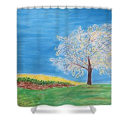 Magical Wish Tree Shower Curtain