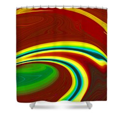 Magma  C2014 Shower Curtain