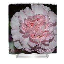 Magnetic Pink Shower Curtain