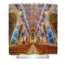 Magnificent Cathedral II Shower Curtain by Ray Warren