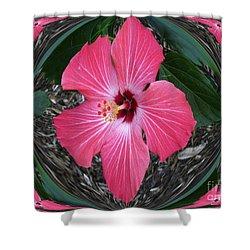 Magnificent Flower Shower Curtain by Oksana Semenchenko