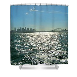Shower Curtain featuring the photograph Magnificent Sydney Harbour by Leanne Seymour