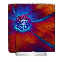 Shower Curtain featuring the photograph Magnolia Electric by Susan Maxwell Schmidt
