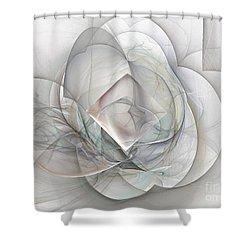 Magnolia Jazz Shower Curtain by Elizabeth McTaggart