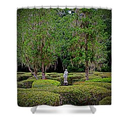Shower Curtain featuring the photograph Magnolia Maze by Jean Haynes