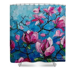Magnolias For Ever Shower Curtain