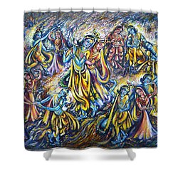 Maha Rass Shower Curtain by Harsh Malik