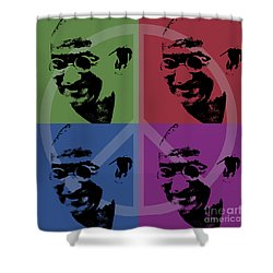 Mahatma Gandhi  Shower Curtain by Jean luc Comperat