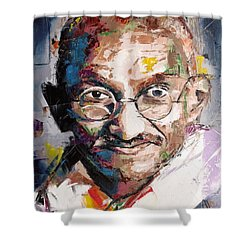 Mahatma Gandhi Shower Curtain