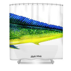 Mahi Mahi Shower Curtain