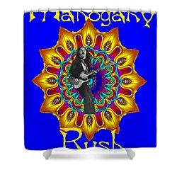 Mahogany Rush Art 1 Shower Curtain