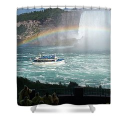 Shower Curtain featuring the photograph Maid Of The Mist -41 by Barbara McDevitt