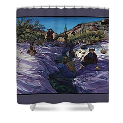 Maiden Pools Shower Curtain