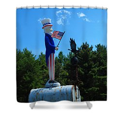Mail For Uncle Sam Shower Curtain