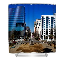 Main Street South Carolina Shower Curtain