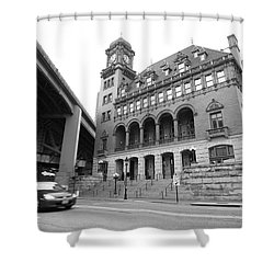 Main Street Station Shower Curtain