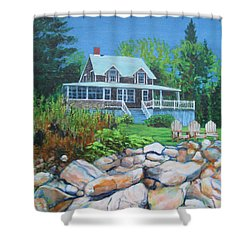 Maine Cottage Shower Curtain